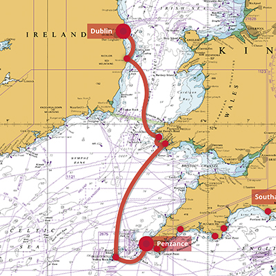 Crew 12 - Irish Jig 1 - 7 days - £696 | Elite Sailing
