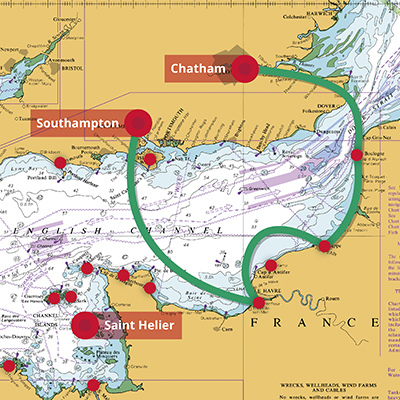 Elite Sailing | Channel Dash 1